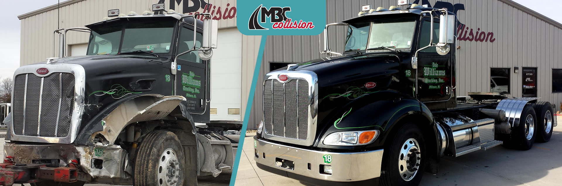 Services at MBC Collision, truck & body paint repair shop in Springfield IL